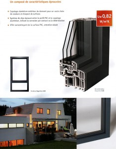Fenêtre Pvc – Aluminium STEP-LINE KAB