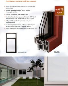 Fenêtre Pvc-Aluminium NOVA-LINE KAB