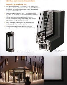 Fenêtre Pvc à joint central TOP90, Store Vénition intégré KAV-NOVA