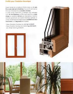 Variante bois-PVC Classic-line