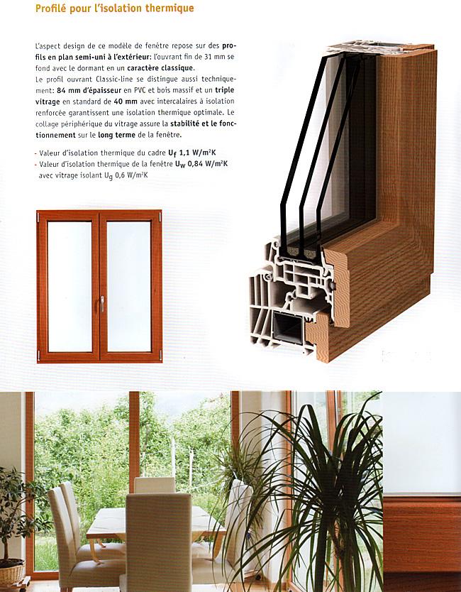 variante bois pvc classic line fourniture et installation de menuiseries toulouse l 39 union. Black Bedroom Furniture Sets. Home Design Ideas