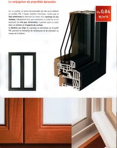 Variante bois-aluminium Classic-line