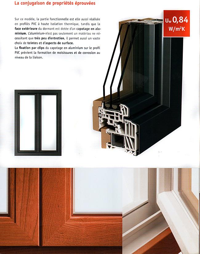 variante bois aluminium classic line fourniture et. Black Bedroom Furniture Sets. Home Design Ideas